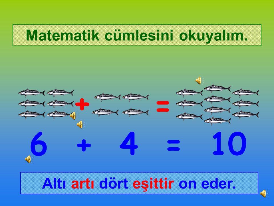 Balıkçı Mehmet Amca önce 6 balık avlamıştı.