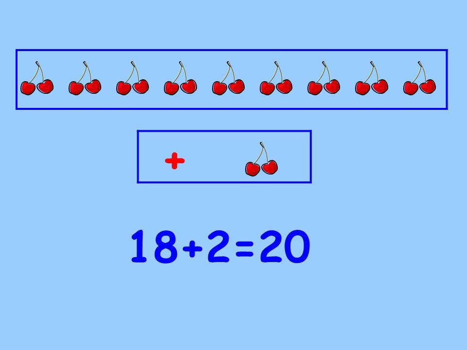 Toplamları 20 olan sayı ikililerini belirleyelim.