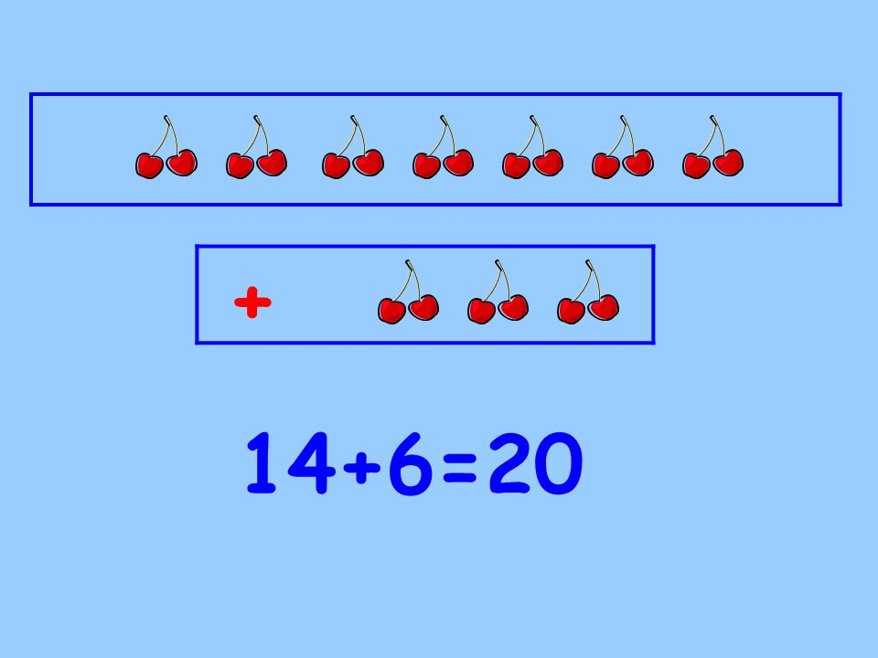 + 16+4=20