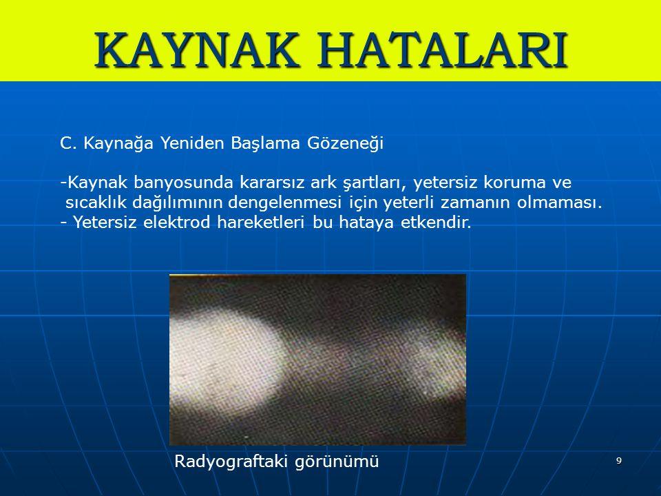 9 KAYNAK HATALARI C.