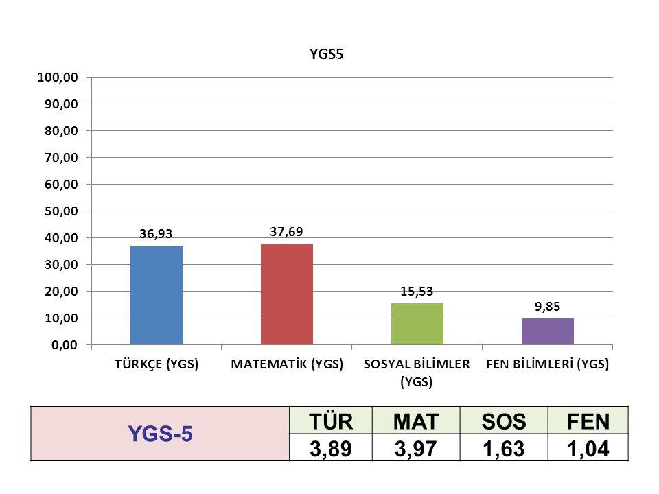 YGS-5 TÜRMATSOSFEN 3,893,971,631,04
