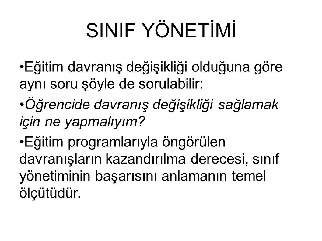 SINIFTA İLETİŞİM Başar'a (1990, s.