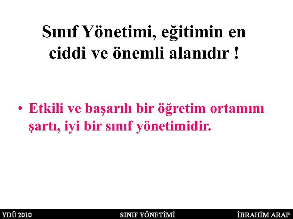 SINIFIN YAPISAL ÖZELLİKLERİ 3.