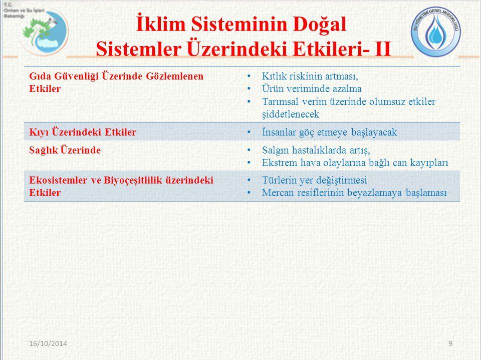 16/10/201440 Tartışmalar ve Değerlendirmeler- II
