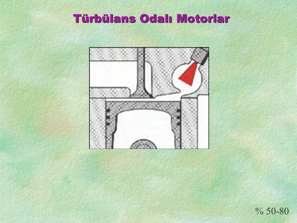 Türbülans Odalı Motorlar % 50-80