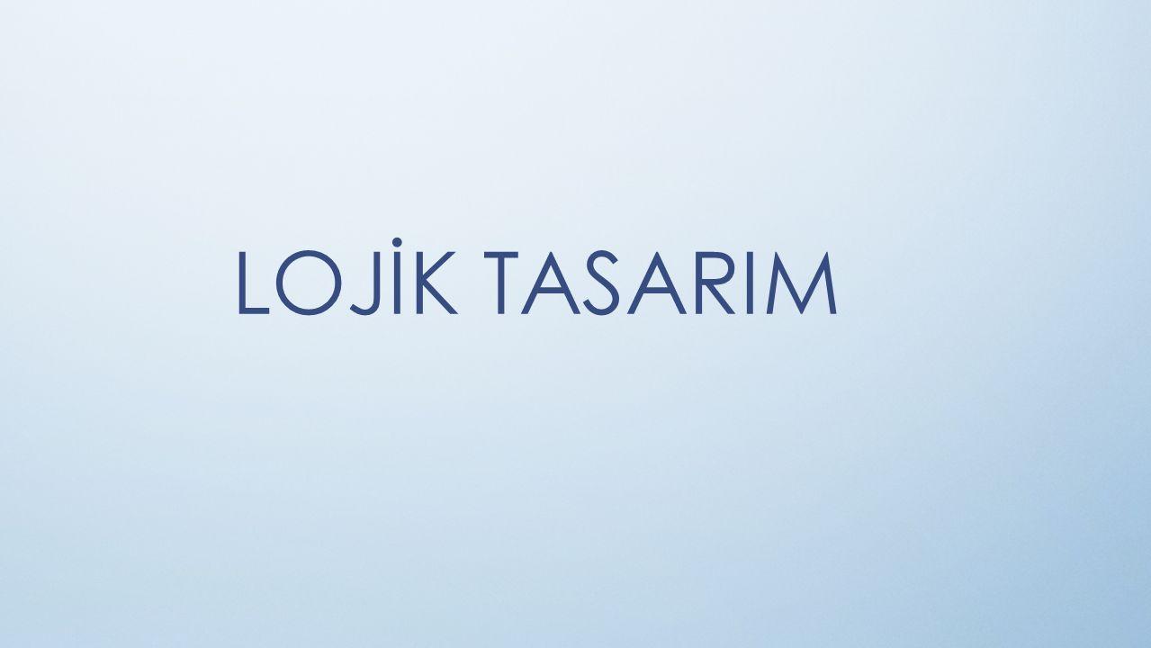 LOJİK TASARIM