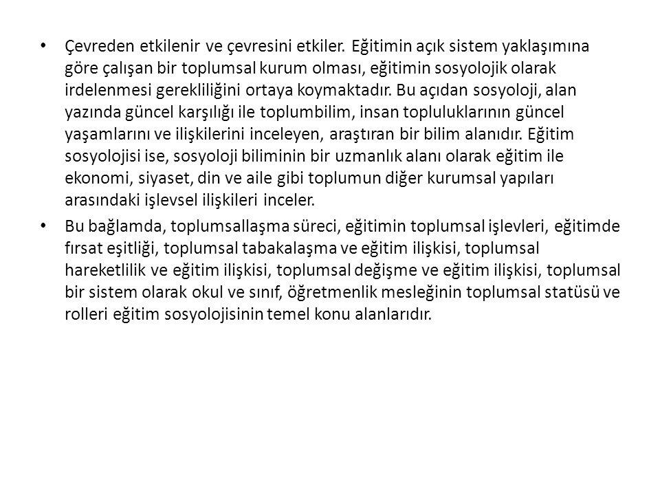 Türkiye Türkiye'de de eğitim sistemi örgün eğitim ve yaygın eğitim olarak iki başlık altında ele alınmaktadır.
