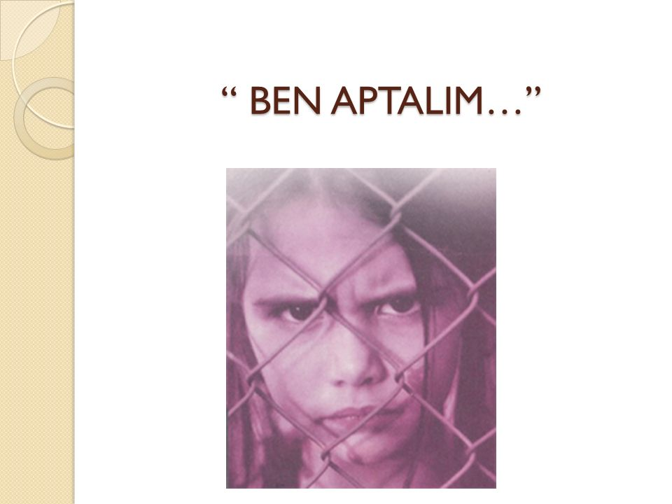 BEN APTALIM…
