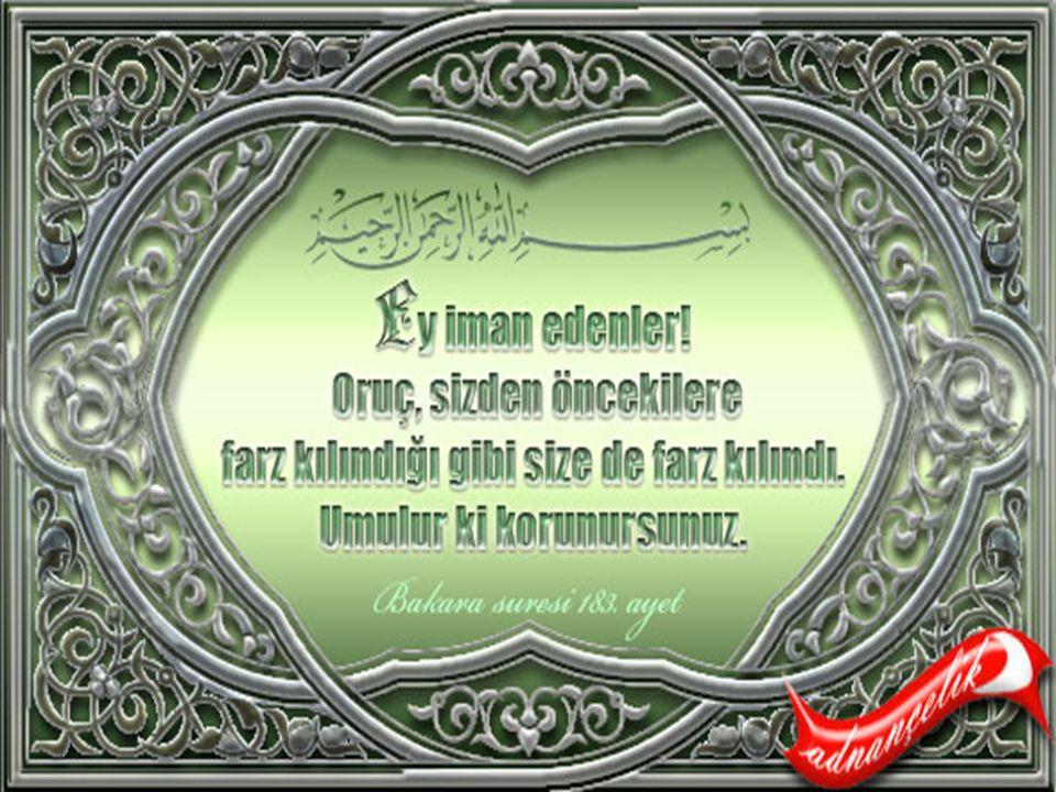Oruç kelimesi Farsça'dır. Arapça karşılığı ise savmdır.