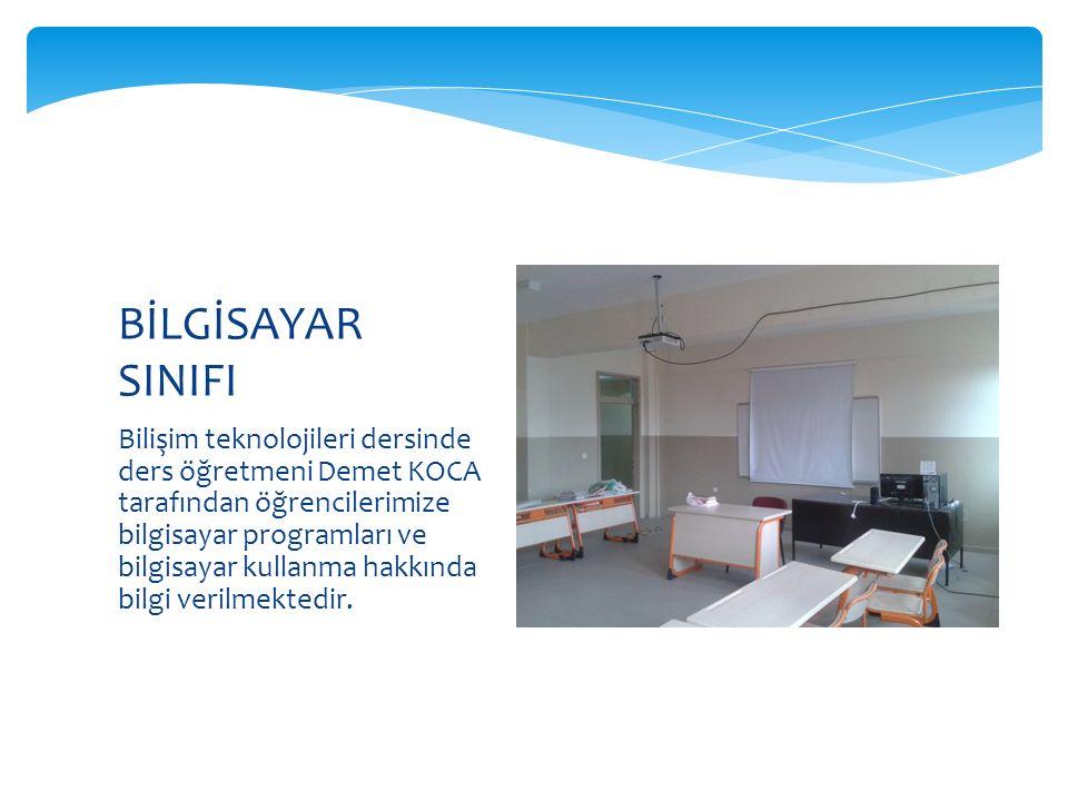 Bilişim teknolojileri dersinde ders öğretmeni Demet KOCA tarafından öğrencilerimize bilgisayar programları ve bilgisayar kullanma hakkında bilgi verilmektedir.