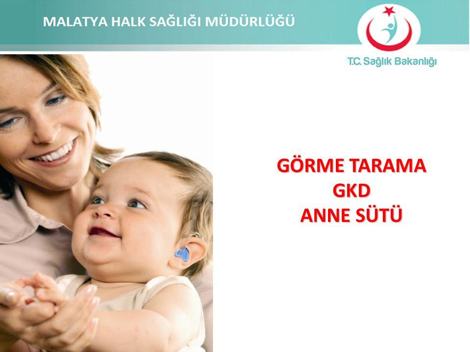 Çocuk sağlığını korumak, çocukların gelişimine katkıda bulunmak üzere çeşitli programlar yürütülmektedir.