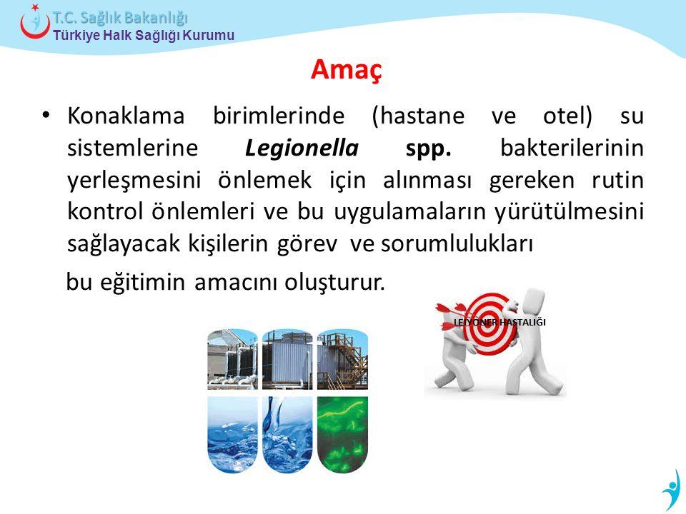 Türkiye Halk Sağlığı Kurumu T.C. Sağlık Bakanlığı LEJYONER HASTALIĞI HAKKINDA GENEL BİLGİLER 3