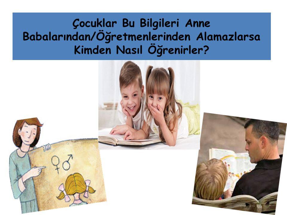 Çocuklar Bu Bilgileri Anne Babalarından/Öğretmenlerinden Alamazlarsa Kimden Nasıl Öğrenirler?