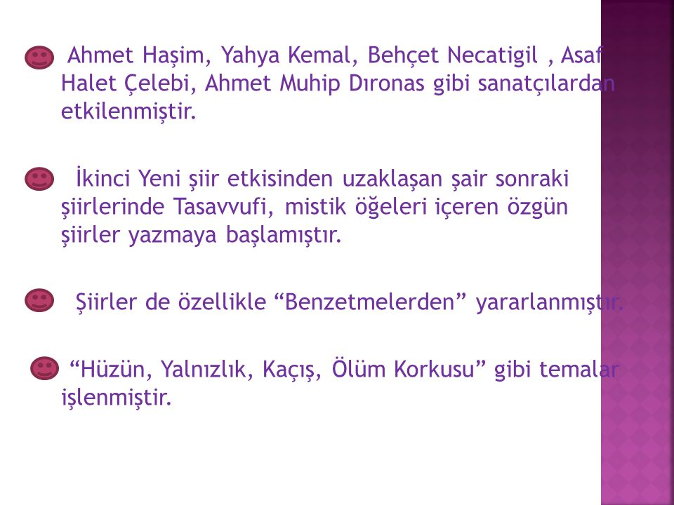 """Cumhuriyet, Yeni Ortam ve Milliyet gibi çeşitli gazetelerde yazılar yazmıştır. """"Ali Hikmet"""" takma adıyla çeşitli yazıları vardır. Şiire ilk olarak """"İk"""
