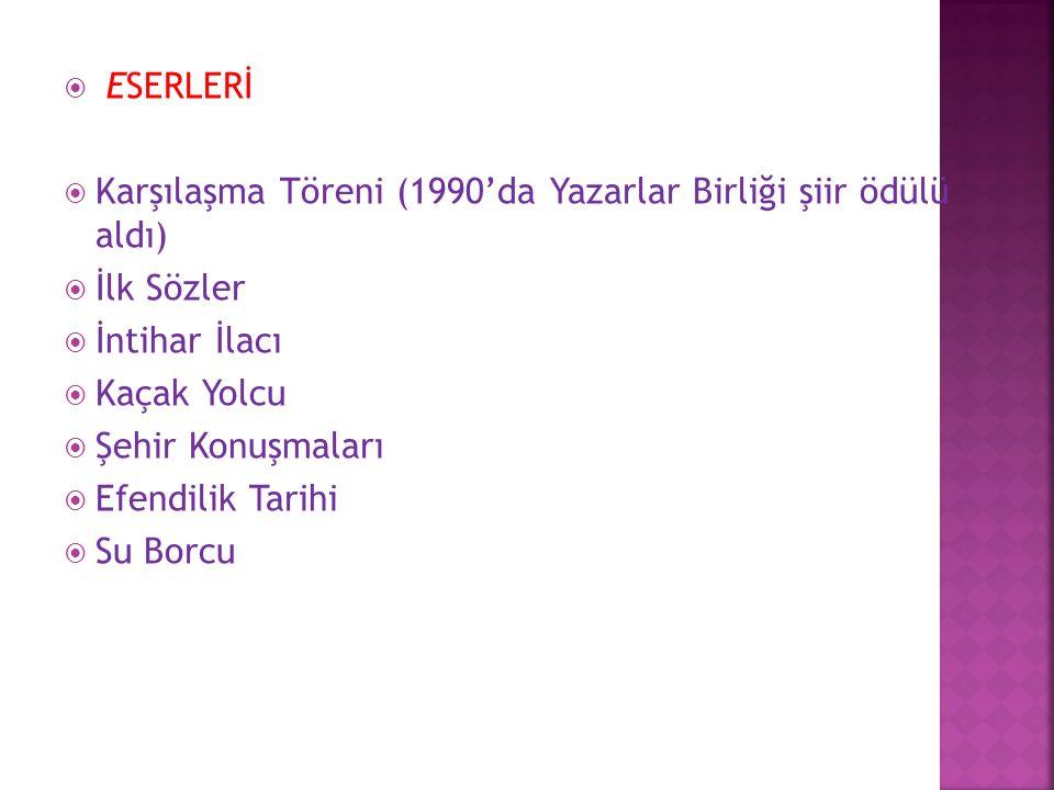  HÜSEYİN ATLANSOY 1962 yılında Eskişehir'de doğmuştur.