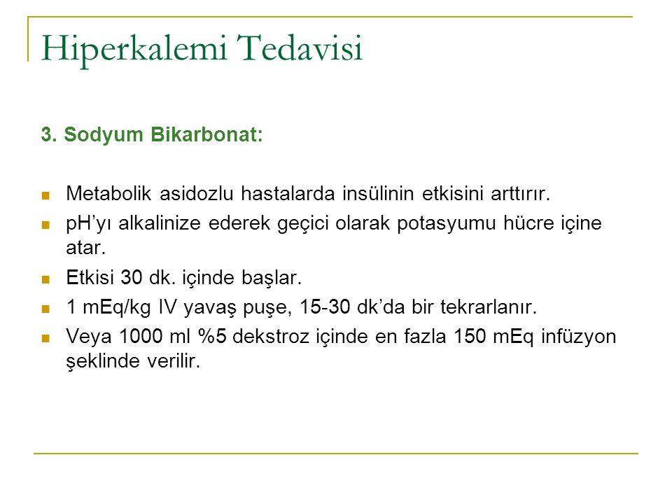 Hiperkalemi Tedavisi 3.
