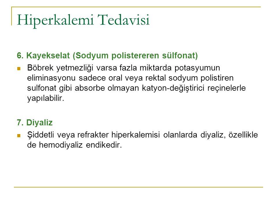 Hiperkalemi Tedavisi 6.
