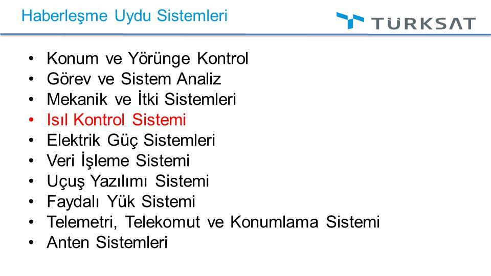 UYDU SİSTEMİ İŞ AKIŞI Tablo 1.Proje faz çizelgesi (Pisacane vd, 2005).