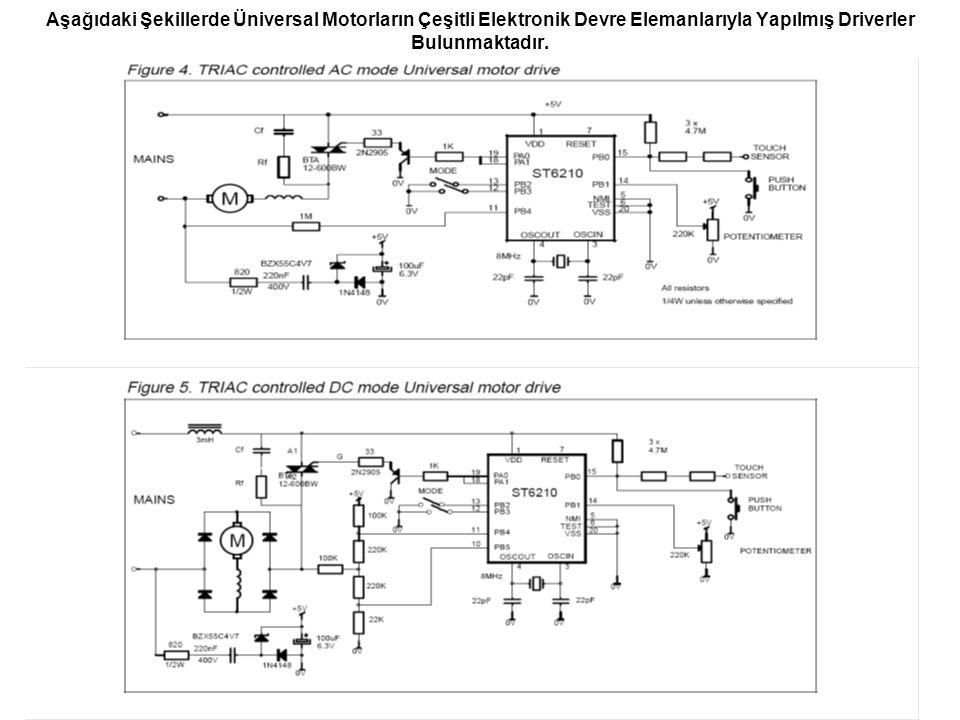 ÇAMAŞIR MAKİNESİNDE KULLANILAN BİR ÜNİVERSAL MOTOR UYGULAMASI Tipik bir tam otomatik çamaşır makinesi, blok diyagramı. Çamaşır makinesi uygulaması, ağ