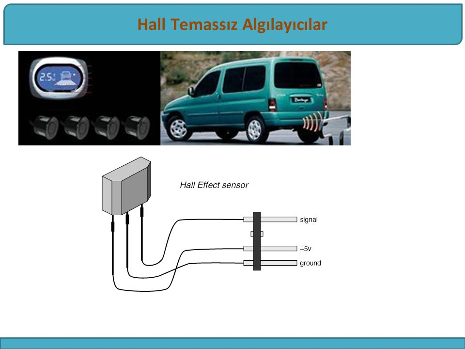 Hall Effect Sensör