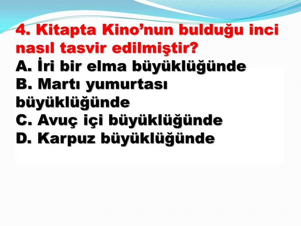 4 44 43. Osmancık kaç yıl aradan sonra öz ailesine kavuşmuştur? A) 2 B) 10 C) 15 D) 20