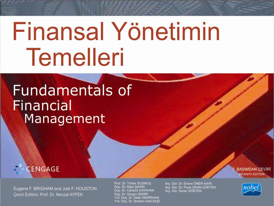 KISIM 1 Finansal Yönetime Giriş