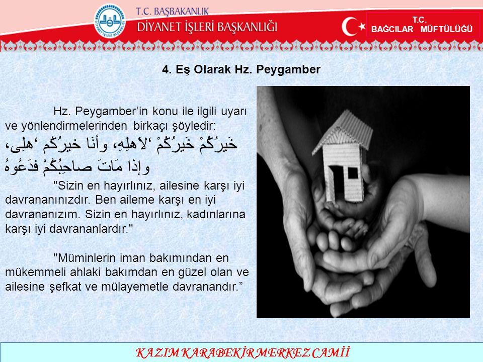 T.C. BAĞCILAR MÜFTÜLÜĞÜ KAZIM KARABEKİR MERKEZ CAMİİ 4.