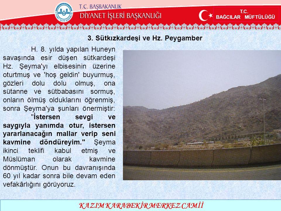 T.C. BAĞCILAR MÜFTÜLÜĞÜ KAZIM KARABEKİR MERKEZ CAMİİ 3.