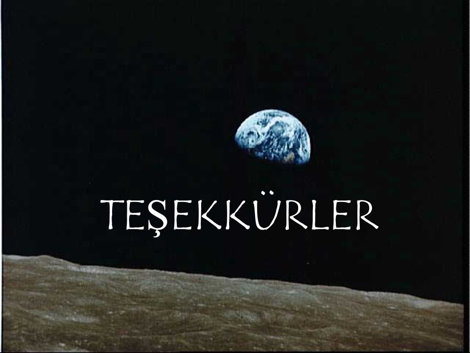 TE Ş EKKÜRLER