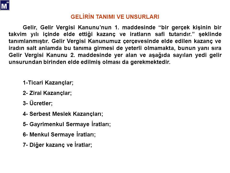 13 KAR PAYLARININ VERGİLENDİRİLMESİ ( GVK MD.