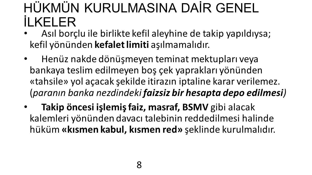 MENFİ TESPİTE VE İ.