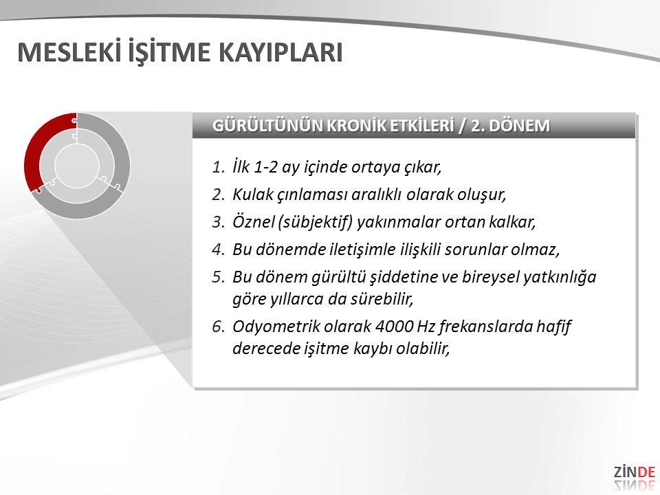 GÜRÜLTÜNÜN KRONİK ETKİLERİ / 2.