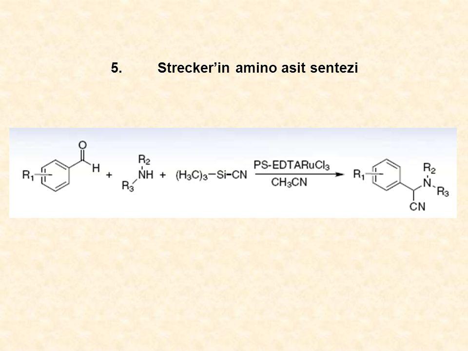 5.Strecker'in amino asit sentezi