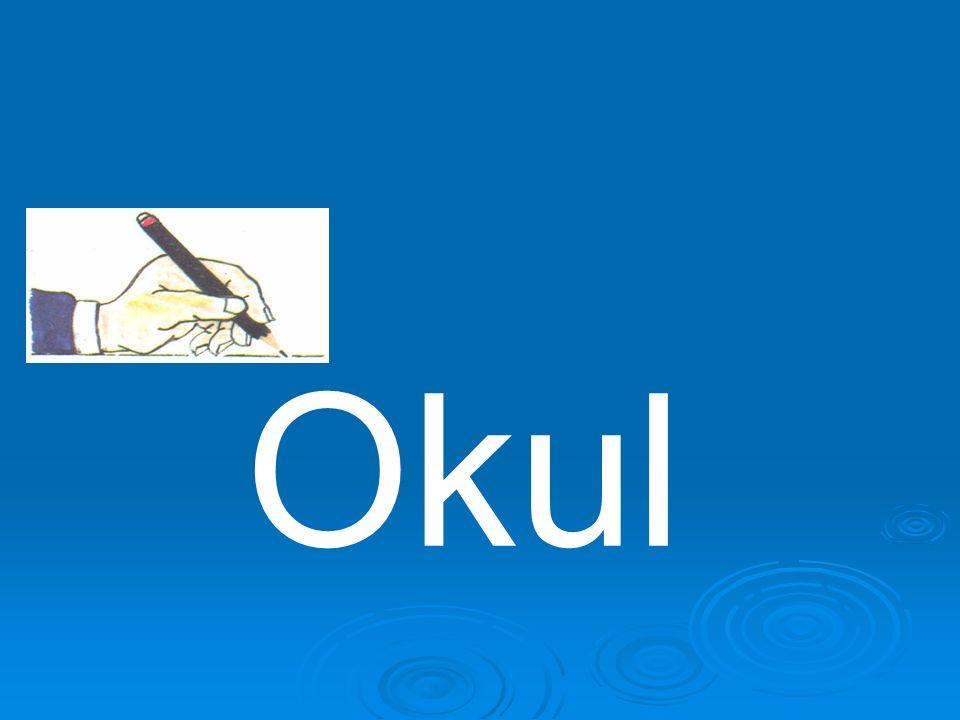 """ """"Okul"""" yolunu yazılacak """"Okul"""" sözcüğü olarak düşünürsek(Bisiklet yerine kalemi koyarak):  1-""""O"""" harfini yapan kalem """"k"""" harfine geçmesi için kalem"""