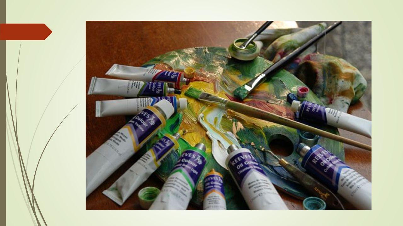  5) Resim Sehpaları Yağlı boya resim yaparken elin resme sürtünmemesi gerekir.