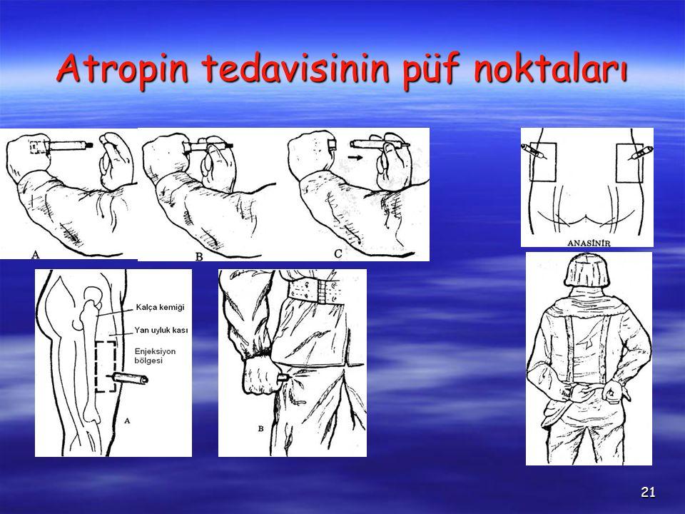 21 Atropin tedavisinin püf noktaları