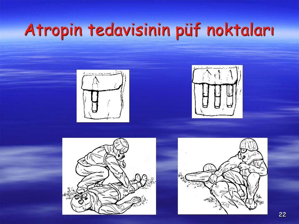 22 Atropin tedavisinin püf noktaları