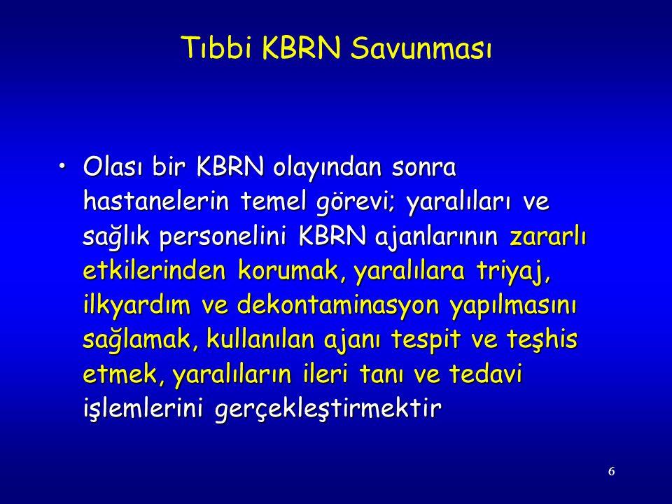 57 KBRN ajanları en çok eğitimsiz birlikler üzerinde etkilidir