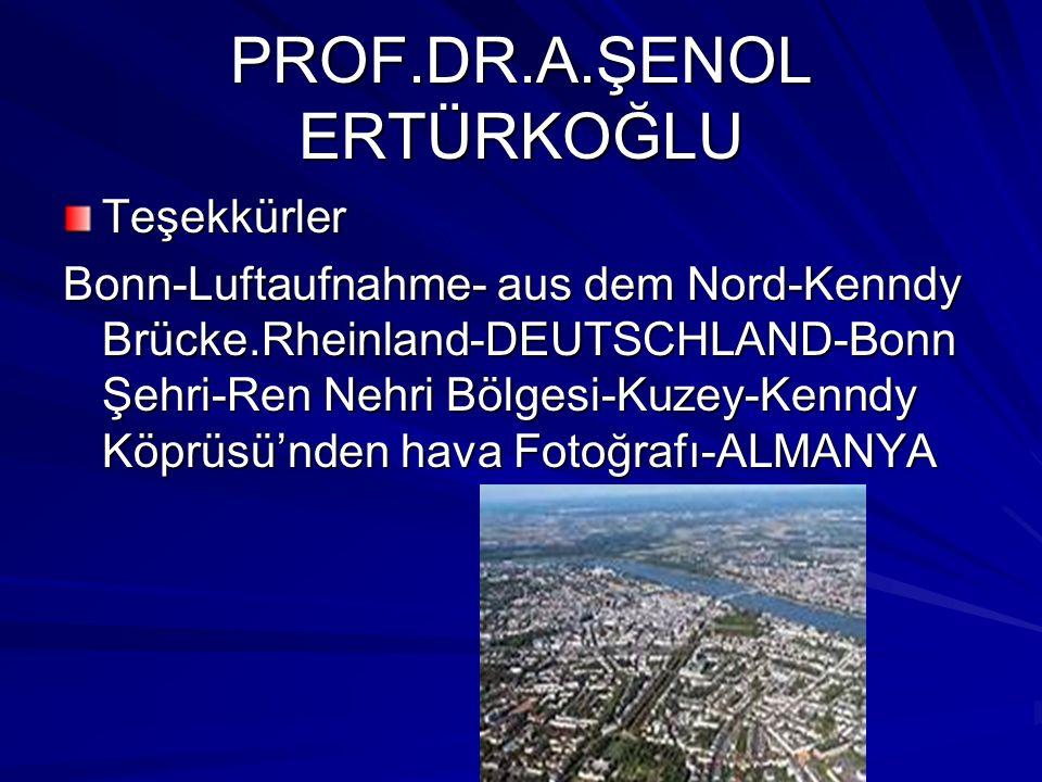 PROF.DR.A.ŞENOL ERTÜRKOĞLU Teşekkürler Bonn-Luftaufnahme- aus dem Nord-Kenndy Brücke.Rheinland-DEUTSCHLAND-Bonn Şehri-Ren Nehri Bölgesi-Kuzey-Kenndy Köprüsü'nden hava Fotoğrafı-ALMANYA