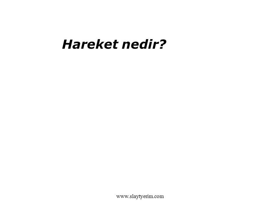 www.slaytyerim.com Hareket nedir?