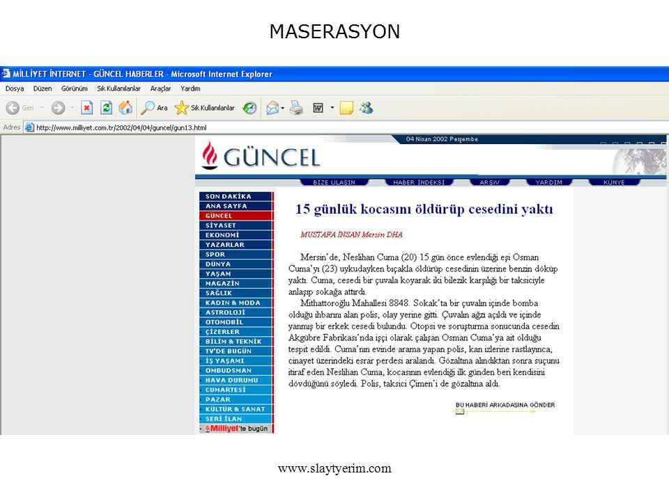 MASERASYON