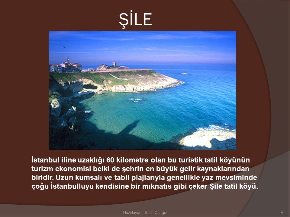 ŞİLE İstanbul iline uzaklığı 60 kilometre olan bu turistik tatil köyünün turizm ekonomisi belki de şehrin en büyük gelir kaynaklarından biridir.