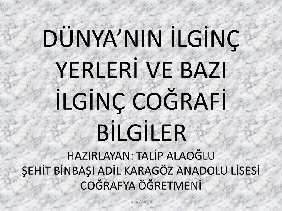 Talip Alaoğlu Ölüdeniz – Fethiye (Muğla)