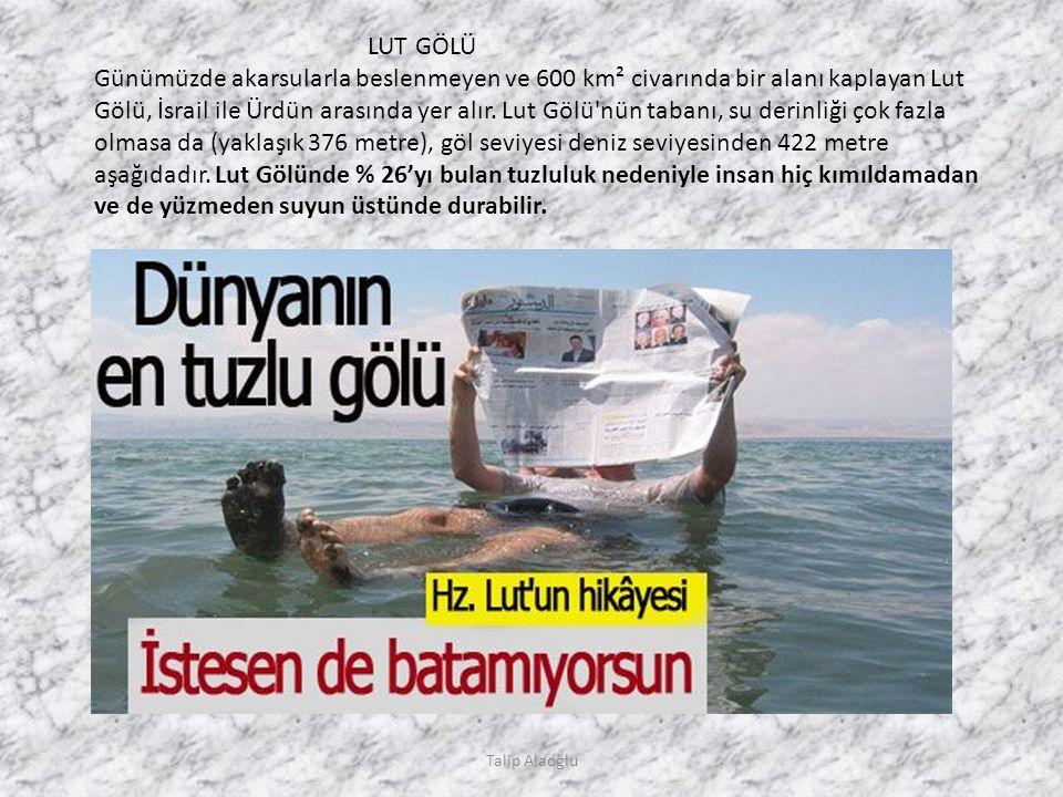 4000 METRE BUZUN ALTINDAKİ GÖL Talip Alaoğlu