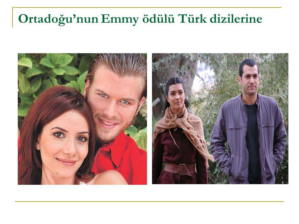 Ortadoğu'nun Emmy ödülü Türk dizilerine
