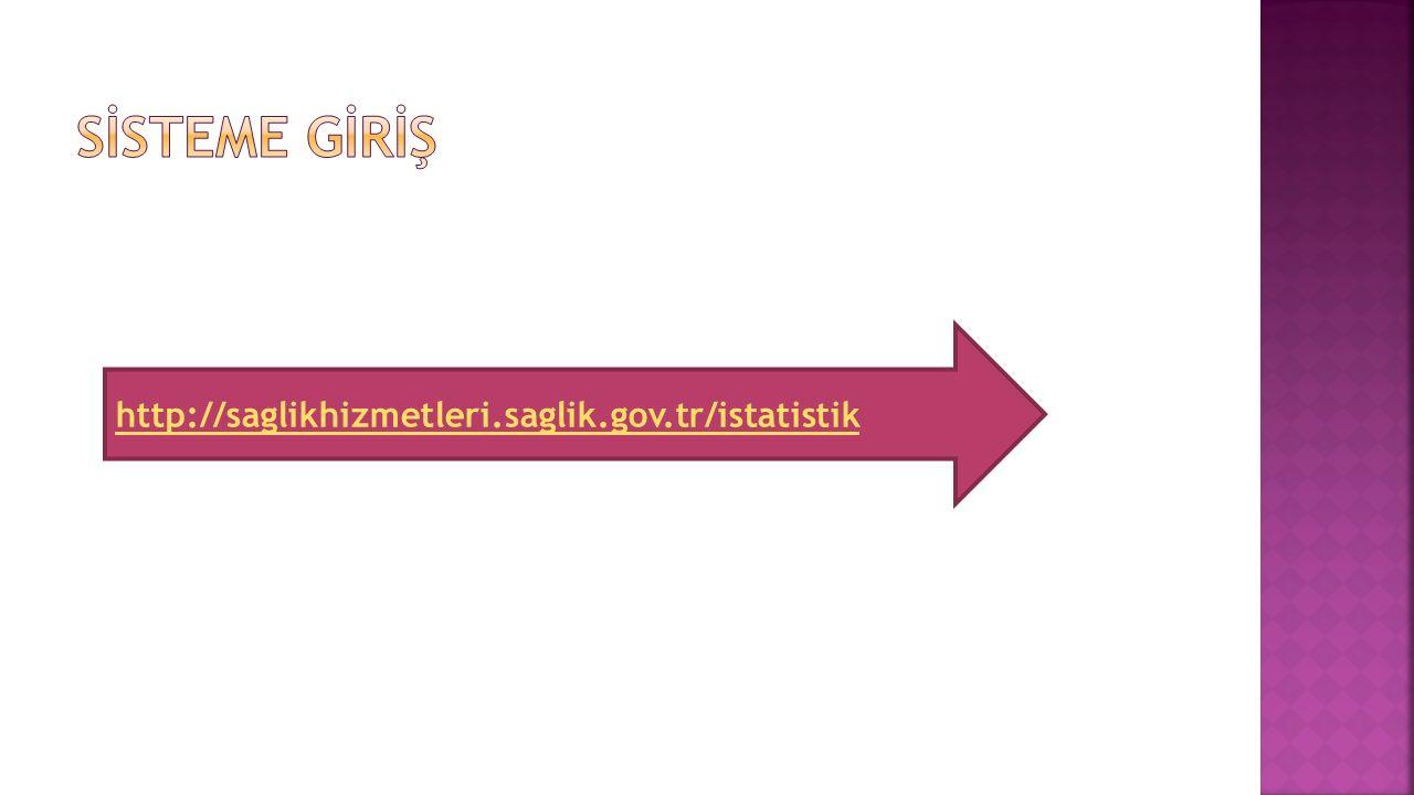 İşlem Listesindeki kodlar haricinde kod yüklediğinizde bu ekran gelir.