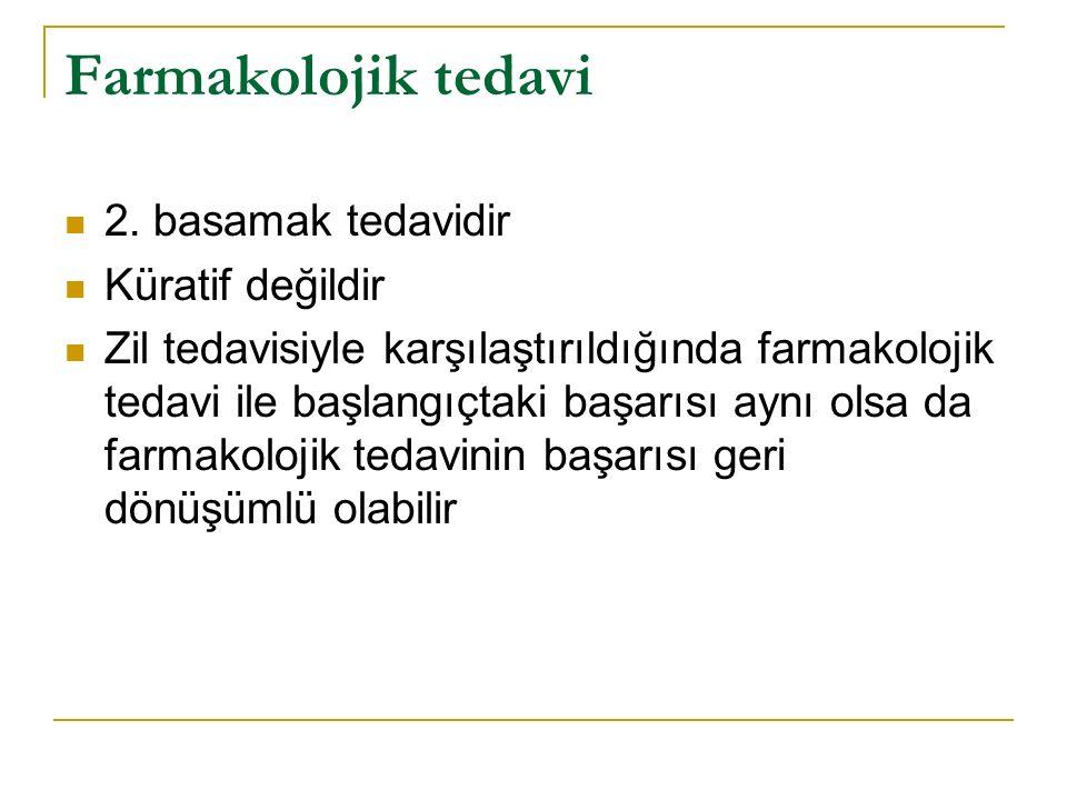 Farmakolojik tedavi 2.