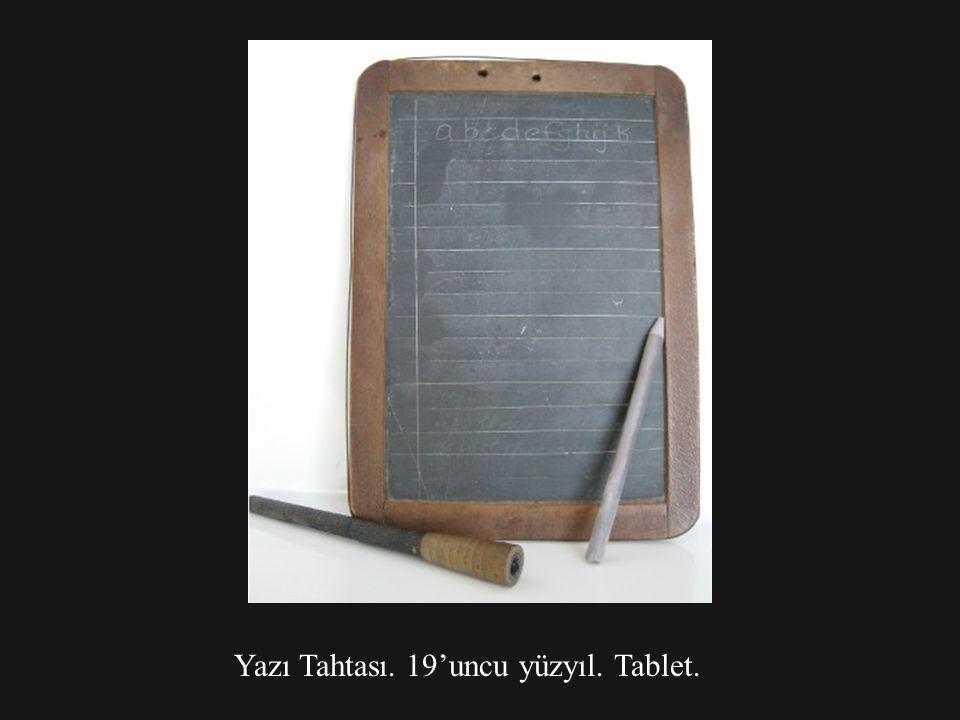 Yazı Tahtası. 19'uncu yüzyıl. Tablet.