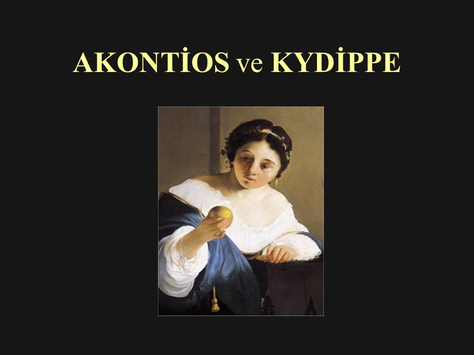 AKONTİOS ve KYDİPPE