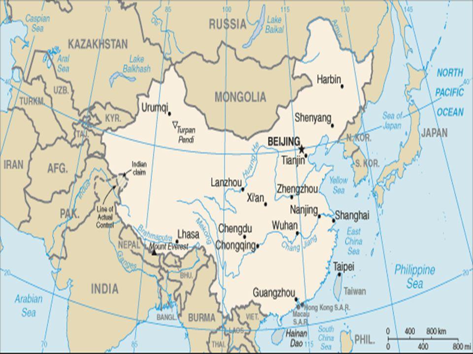 ÇİN SİYASAL TARİHİ  Yüzyıllar boyunca Çin sanat ve bilimde önde gelen bir medeniyetti  Fakat 19.
